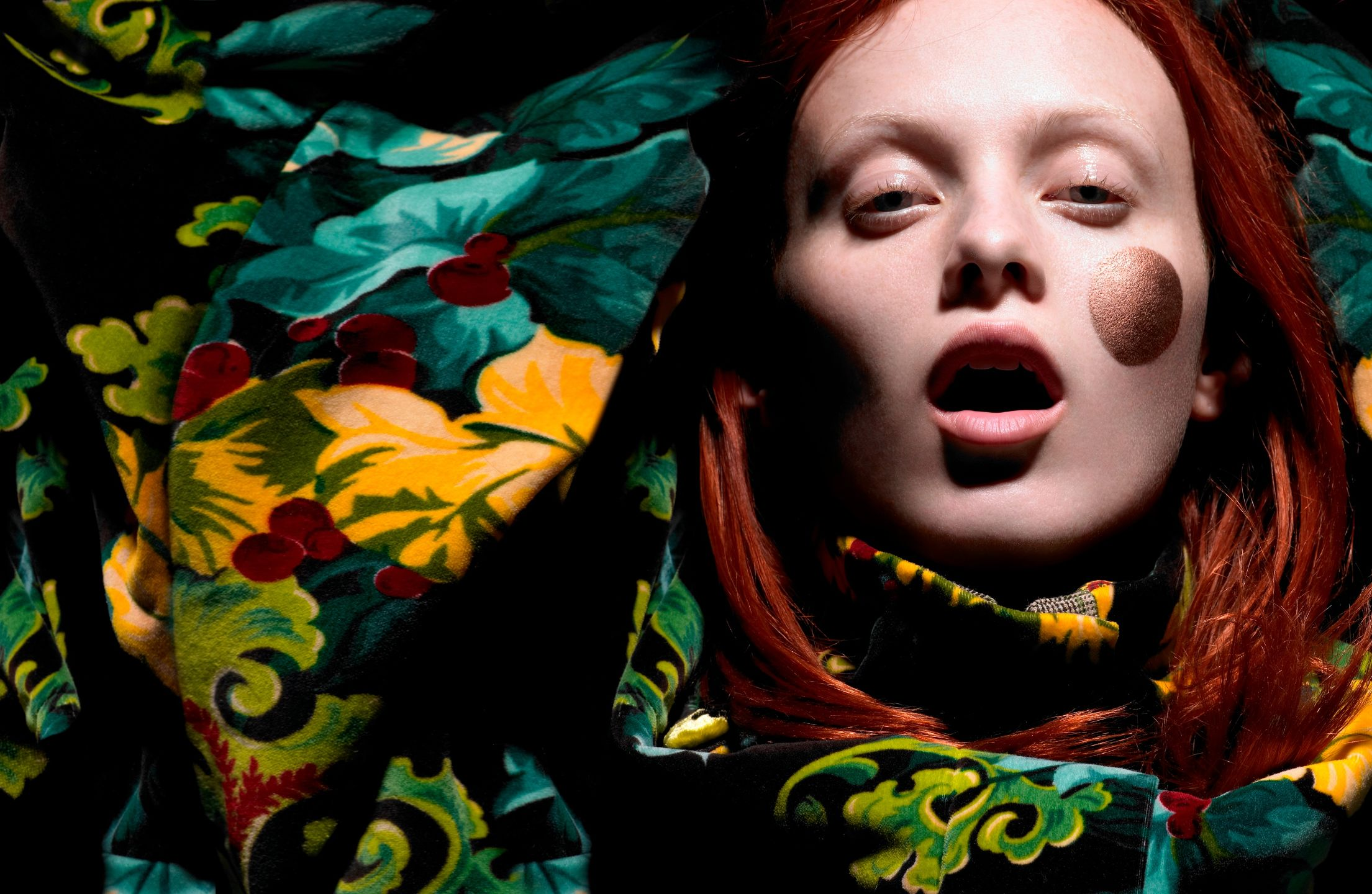 Liz Collins — Karen Elson for POP